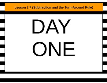 Everyday Mathematics Lesson 2.7