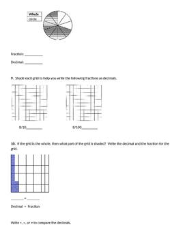 Everyday Mathematics Unit 3 Review Homework, Common Core 4th Grade