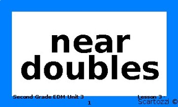 Everyday Mathematics Unit 3 Vocabulary Words