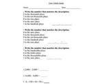 Everyday Mathematics Unit 5 and Unit 6 Grade 3 Study Guides