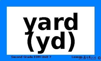 Everyday Mathematics Unit 7 Vocabulary Words
