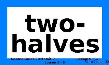 Everyday Mathematics Unit 9 Vocabulary Words