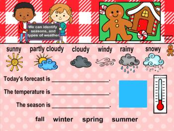 Everyday PROMETHEAN Calendar - December - Pre-K, K, 1st Grades