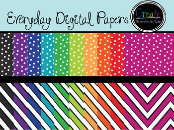 Everyday Papers - Digital Clipart