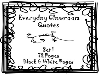 Everyday Quotes-Set 1