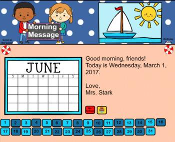 Everyday SMART Calendar - June - Pre-K, K, 1st Grades