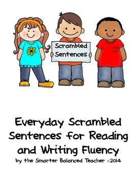 Everyday Scrambled Sentences