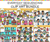Everyday Sequencing Clip Art Bundle - One