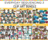 Everyday Sequencing Clip Art Bundle - Three