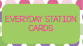Everyday Station Cards