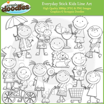 Everyday Stick Kids