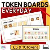 Everyday Token Boards Digital Visual Reward Charts for Google Slides™