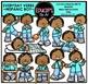 Everyday Verb Kids Clip Art Mega Bundle {Educlips Clipart}