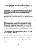 Help Your Child Be a Better Learner in Any Language Biling