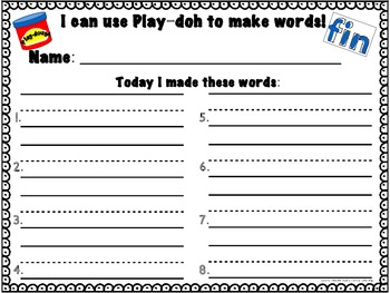 Word Work Centers {L-Blends & R-Blends}