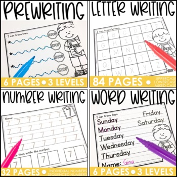 Everyday Writing Practice: Handwriting and Tracing Practice