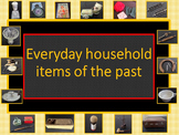 Australian History Resource everyday household items of the past Fully Editable