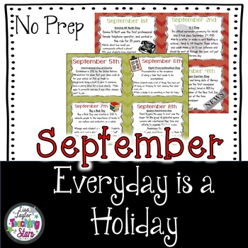 Everyday is a Holiday: September's Daily Holiday Cards