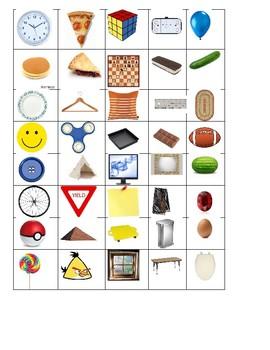 Everyday item shape matching
