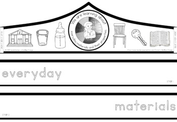 Everyday materials and their properties crown