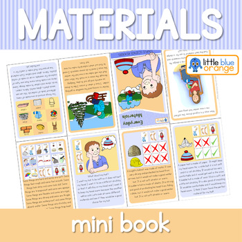 Everyday materials and their properties mini book