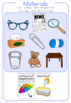 Everyday materials and their properties worksheet