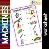 Simple machines worksheet