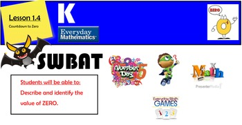 Everyday mathematics Lesson 1.4 Countdown to Zero