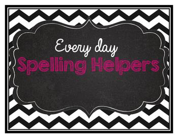 Everyday spelling helpers