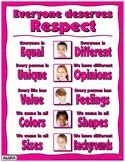 Everyone Deserves Respect Poster - PBIS