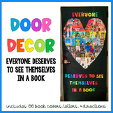 Everyone Deserves to See Themselves in a Book Door Decor