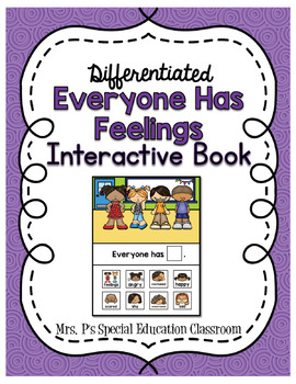Everyone Has Feelings Interactive Book
