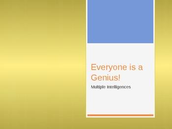 Everyone Is A Genius!