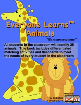 Everyone Learns: Animals