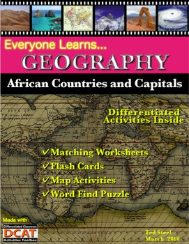 Everyone Learns Geography: African Countries and Capitals