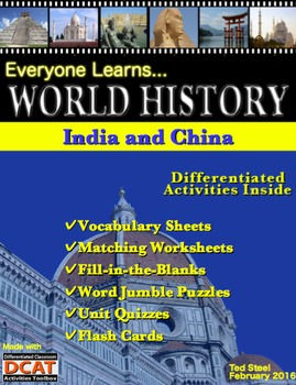 Everyone Learns World History: India and China