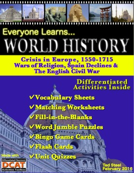Everyone Learns World History: Crisis in Europe, 1550-1715