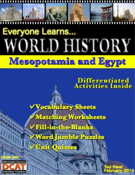Everyone Learns World History: Mesopotamia and Egypt