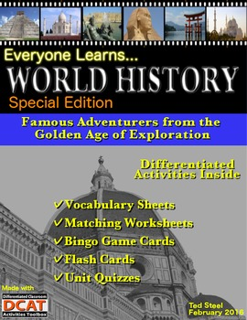 Everyone Learns World History: Special Edition, Exploration