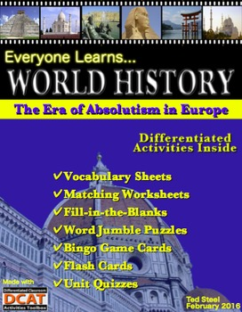 Everyone Learns World History: The Era of Absolutism in Europe