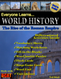 Everyone Learns World History: The Rise of the Roman Empire