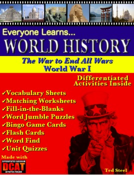 Everyone Learns World History: The War to End All Wars, World War I