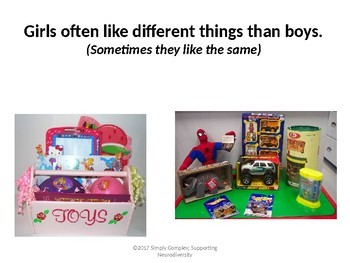 Everyone Likes Different Things; Perspective Taking; Accepting Others Interests
