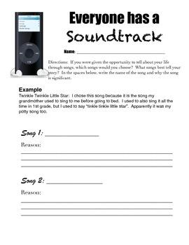 Everyone has a Soundtrack