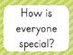 Everyone is Special!