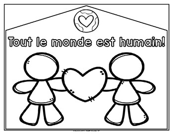 Everyone is someone! Tout le monde est humain! Posters (French)