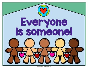 Everyone is someone! Posters in English