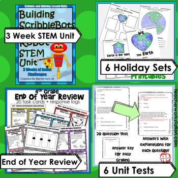 Everything 4th Grade Science Growing Mega Bundle