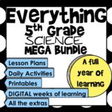 Everything 5th Grade Science Mega Bundle (TEKS & NGSS)