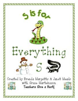 Everything ABC - S